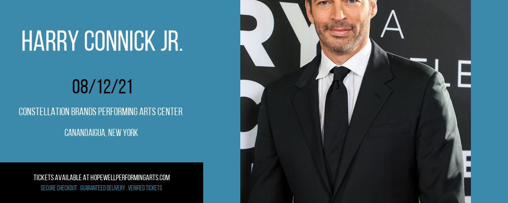 Harry Connick Jr. at Constellation Brands Performing Arts Center