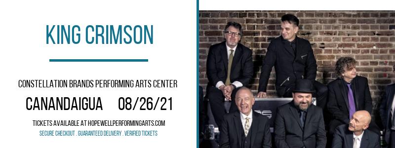 King Crimson at Constellation Brands Performing Arts Center